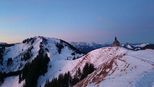 Blick Richtung Kapelle und Setzberg